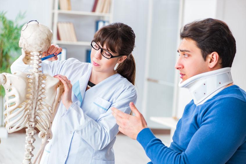 Fratura de compressão vertebral